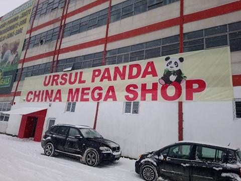 Nu ratați MAREA DESCHIDERE- CHINA MEGA SHOP – URSUL PANDA!