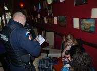 Razie a jandarmilor si poliţiştilor, azi noapte, la Arefu si Corbeni
