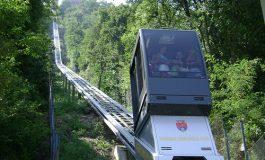 La Cetatea Poienari ca-n Italia, la Bergamo -Sute de turişti vor putea urca cu liftul în fiecare ora