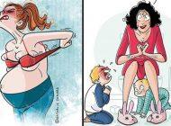 Perspectiva sinceră și amuzantă a unei mame-10 imagini despre viața cu copii.