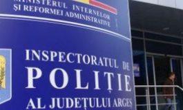 Şefia Poliţiei Argeş scoasă la concurs - Funcţia de inspector şef se va ocupa prin concurs care va avea loc pe 12 septembrie