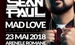 Superstarul Sean Paul vine in Romania - Concert incendiar la Arenele Romane