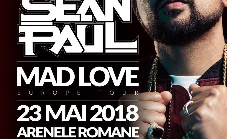 Superstarul Sean Paul vine in Romania – Concert incendiar la Arenele Romane