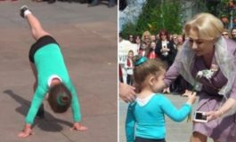 TU CE PARERE AI ? Inspectorul școlar din Argeș: Nu pot face nimic în cazul fetiței de 3 ani pusă să se dea peste cap în fața premierului