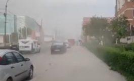 VIDEO ! ACUM, a fost prăpăd in nordul orasului - FURTUNĂ NEMAIVAZUTĂ !