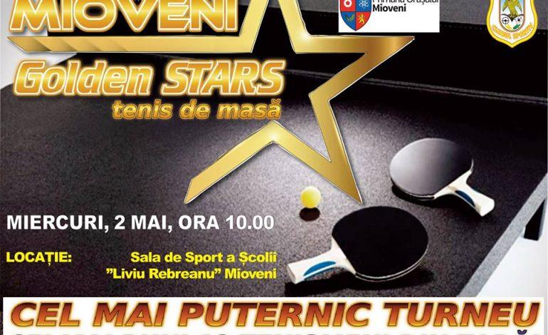 EVENIMENT ! Mioveni GOLDEN STARS, turneul celor mai buni 12 jucători din tenisul de masă românesc