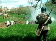 Eveniment unic în România, la Câmpulung - Reconstituirea unei lupte din timpul Primului Război Mondial