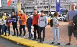 VIDEO ! Protest împotriva PSD şi a Guvernului si la Pitesti