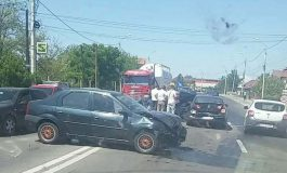 ACUM ! Carambol in Argeş, 4 masini implicate !