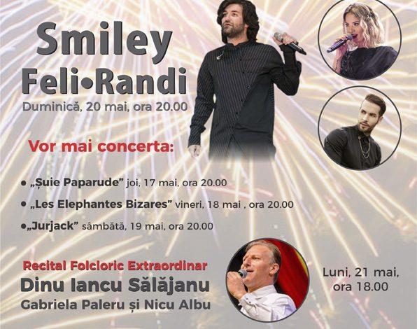 Weekend plin de concerte în Pitești – Smiley, Feli, Randi, Iancu Salajan VEZI PROGRAMUL