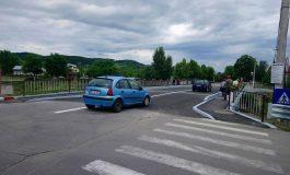 ÎN SFÂRŞIT ! S-a redeschis podul de la Mânăstire ! Ideea fostului primar inaugurată cu tăiere de panglică de Panţurescu