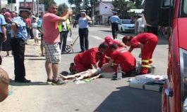 Acum, accident la Curtea de Argeș - Copil lovit de un Logan