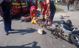 ACUM! Accident grav in Arges cu 4 mașini
