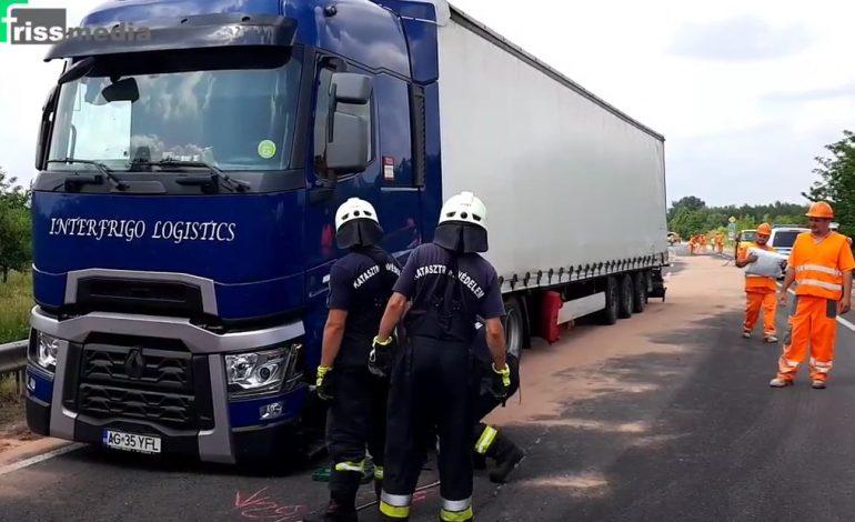 VIDEO ! ŞOFER de TIR argeşean ACCIDENT grav cu MAŞINA POLIŢIEI în Ungaria