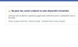 VAI ŞI-AMAR ! Gabriela Firea şi-a inchis iar pagina de FB dupa ce abia o redeschisese SUTE DE COMENTARII NEGTIVE PE MINUT