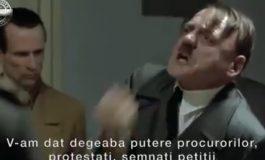 EXCLUSIV VIDEO! Atac mârşav al PSD la Iohannis: Videoclip de promovare a mitingului PSD cu preşedintele in rolul lui Hitler