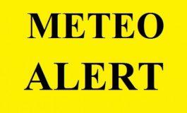 ALERTĂ METEO - Coduri portocalii și galbene de ploi în cinci județe din țară