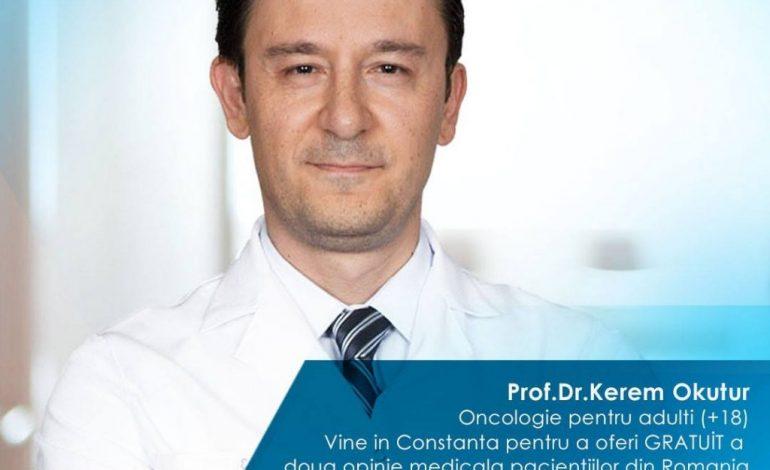 Un reputat doctor oncolog turc vine în România pentru a oferi gratuit a doua opinie medicală