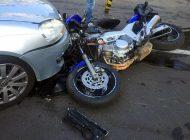 ACUM! Accident cu motociclist in Argeș