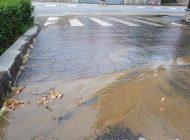 ACUM! Avarie in reteaua de apa- Curtea de Arges a devenit orasul avariilor?