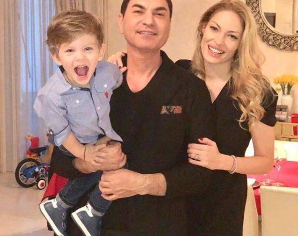 Pelinel, prima fotografie cu Cristian Borcea şi copilul lor. Mesajul postat de fostul fotomodel