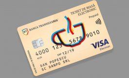 Angajaţii pot primi bonurile de masă pe card