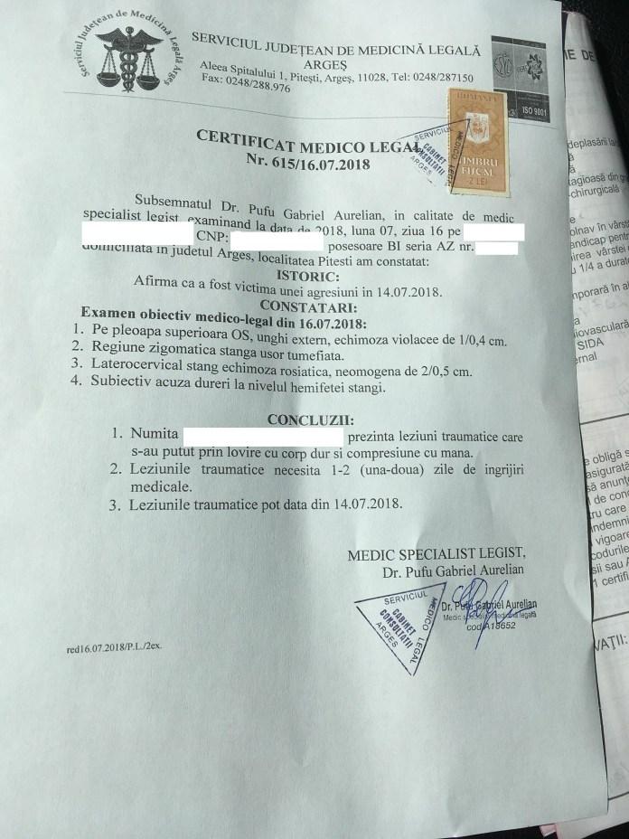 Șeful Corpului de Control al Ministerului Economiei, Felix Braniște, acuzat că a lovit o fată la un chef al tinerilor pesediști din Argeș !