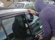 La Albeşti, tineri prinşi la furat din maşini
