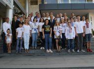 Copiii din Ucraina- tabara in judetul Arges