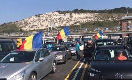 IMAGINILE ZILEI ! Coloane de mașini au pornit din Anglia la protestul din 10 august - FOTO