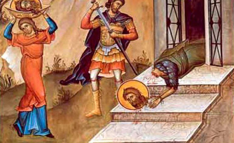 AZI, SĂRBĂTOARE MARE: Tăierea Capului Sfântului Ioan Botezătorul. Ce NU ai voie să faci pe 29 august