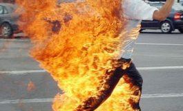 ACUM! Un bărbat a vrut sa își dea foc la Valea Iașului