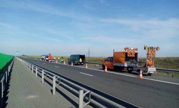 Lucrări pe Autostrada Bucureşti-Piteşti până la ora 14.00