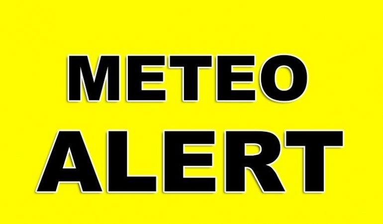 ALERTĂ METEO – Ploi torențiale până duminică seara în aproape toată țara