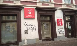 ULTIMA ORA! Sedii PSD vandalizate: Graffiti cu mesajele 'Liberte, egalite, m..e PSD' și 'PSD fură'