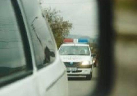 Prins de politisti efectuand transport de persoane fara autorizatie