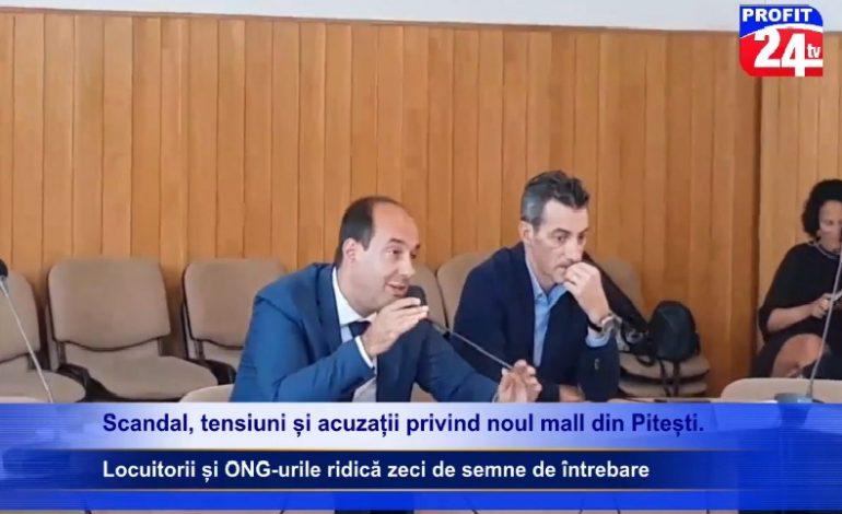 VIDEO Scandal, tensiuni și acuzații privind noul mall din Pitești. Locuitorii și ONG-urile ridică zeci de semne de întrebare