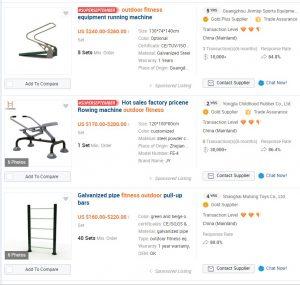 Echipamentele comandate pe portalul alibaba.com sunt foarte ieftine, dar in actele finale vor fi mai scumpe decat cele de marca sau cele produse in Romania.