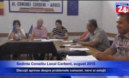 PROFIT 24 TV VIDEO Şedinţă cu scântei la Corbeni, primar în impas
