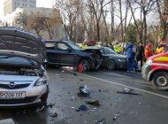 ACUM! Accident grav în Argeș: 3 masini, victime multiple