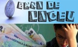 S-a majorat bursa 'Bani de liceu' la suma de 250 de lei lunar