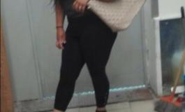 RUŞINE !!! Domnişoară de fiţe prinsă la furat în supermarket din Curtea de Argeş