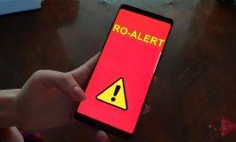 RO ALERT – sistemul de avertizare a populației în caz de dezastru se lansează astăzi