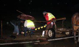 ACUM! Accident grav in Argeș - Căruță spulberată de mașină