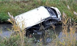 Accident în Germania! Microbuz cu 12 români răsturnat