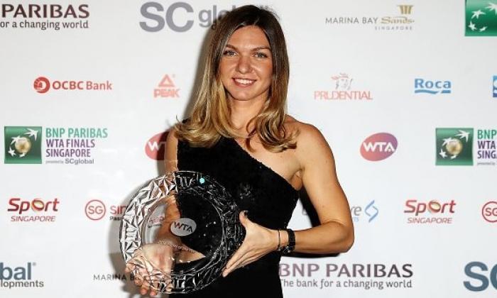 Simona Halep este jucătoarea anului WTA