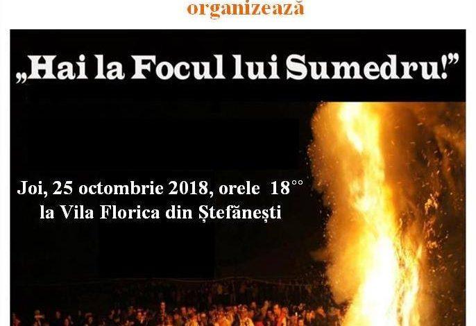 Focul lui Sumedru și simpozion național, la Vila Florica