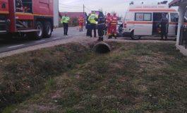 ACUM! Accident la Zigoneni, două maşini implicate, copil cu atac de panică !