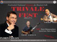 Începe Festivalul Național de Muzică Folk Trivale Fest, ediția a IV-a