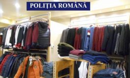 Dosare penale la magazine de haine din Curtea de Arges - Poliţiştii au descoperit copii ale unor branduri celebre